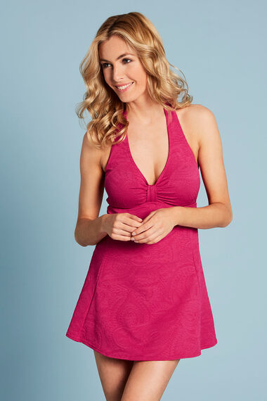 Textured Swimdress