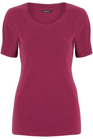 Scoop Neck Half Sleeve T-Shirt