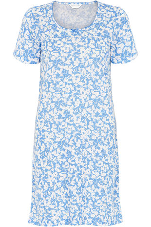 White Flower Nightshirt
