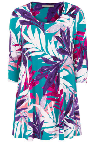 Ann Harvey Palm Leaf Top