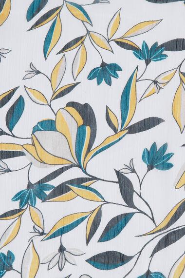 Floral Printed Chiffon Scarf