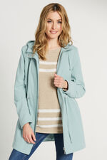 Zip Up Coat With Hood