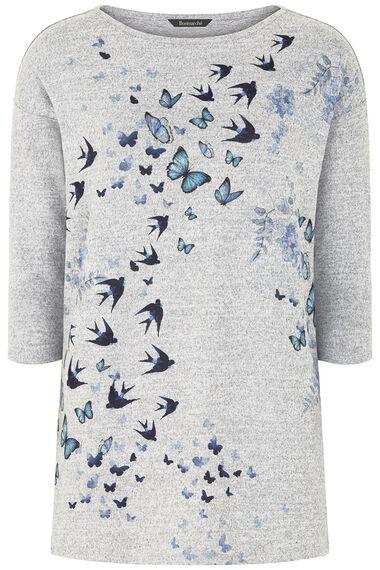 Bird Print Tunic