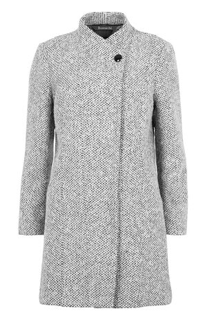 Textured Grey Coat