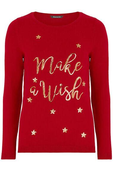 Make A Wish Christmas Jumper