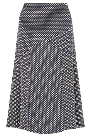 Spot Cut About Skirt
