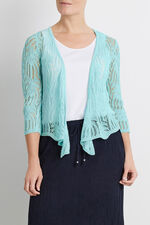 Palm Stitch Shrug