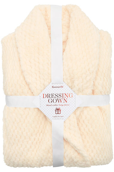 Gift Wrapped Textured Dressing Gown