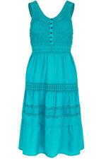 Tiered Cotton Dress