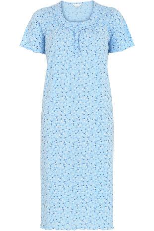 Ditsy Daisy Jersey Nightdress