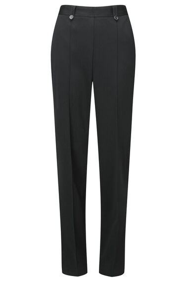 Herringbone Tab Button Trousers