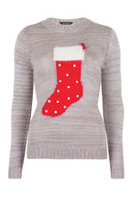 Stocking Intarsia Jumper
