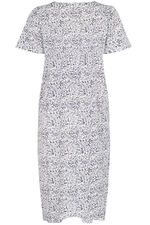 Navy Fern Print Nightdress