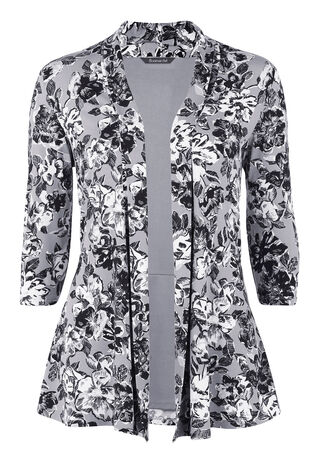 Grey Poppy Soft Jacket