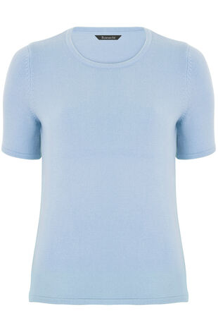 Supersoft Short Sleeve Sweater