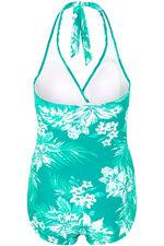 Tropical Floral Halterneck Swimsuit