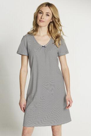 Narrow Stripe  Nightshirt