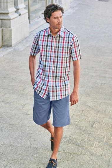 Short Sleeve Check Shirt