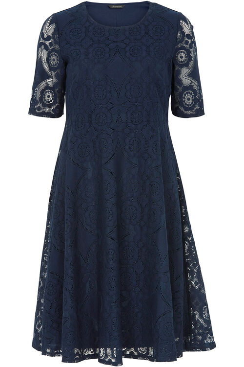 Lace Empire Line Dress