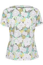 Jungle Floral Lace Detail T-Shirt