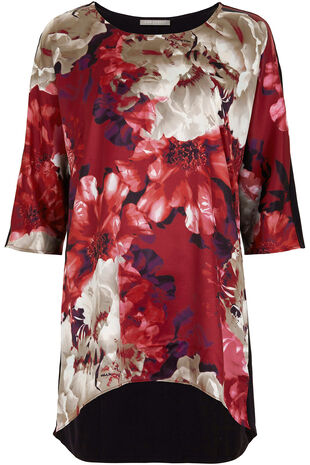 Ann Harvey Satin Front Top