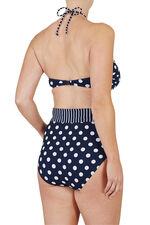 Spot Print Bikini Top