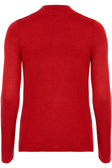 Embellished Yoke Detail Jumper