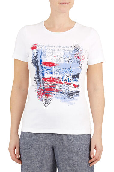 Cotton Harbour Placement T-Shirt