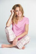 Pink Jersey Top Check Pant PJ