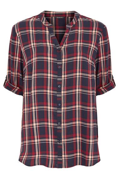 Longline Check Shirt
