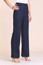 Pin Dot Ponte Wide Leg Trousers