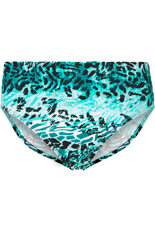 Jade Animal Bikini Brief