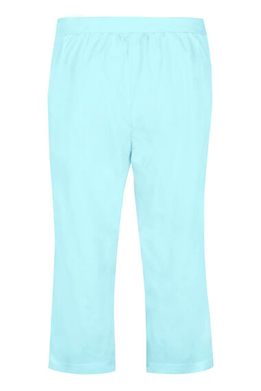 Smart Cotton Cropped Trouser