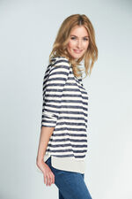 Stripe Knitted Layer Top