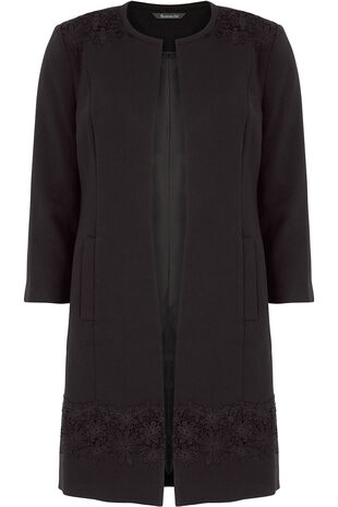 Signature Lace Dress Coat