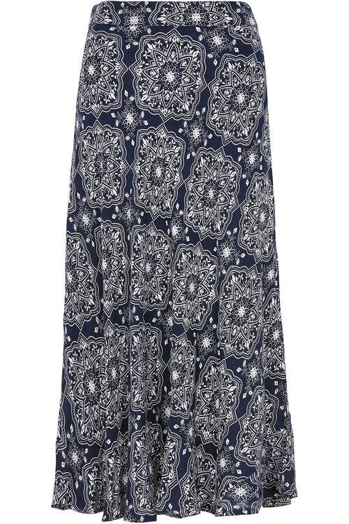 Tile Print Skirt