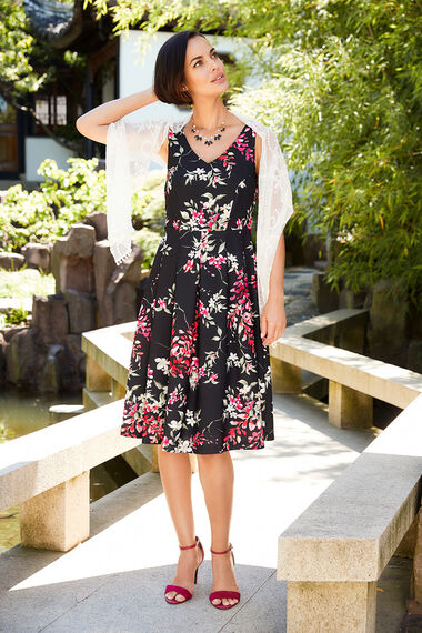 Signature Floral Print Dress
