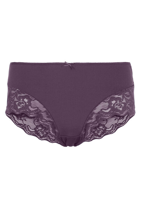 Purple Lace Brief