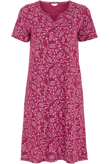 Bird Print Nightshirt