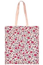Ditsy Floral Print Cotton Shopper Bag