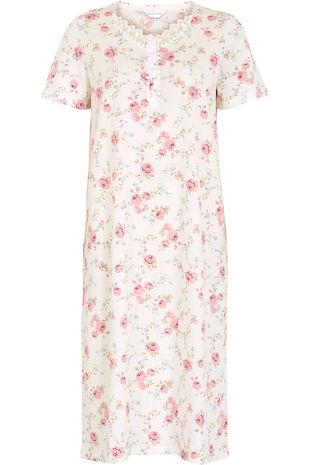 Pink Rose Classic Nightdress