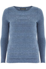 Boucle Textured Stripe Jumper
