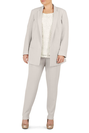 Ann Harvey Crepe Tapered Leg Trousers