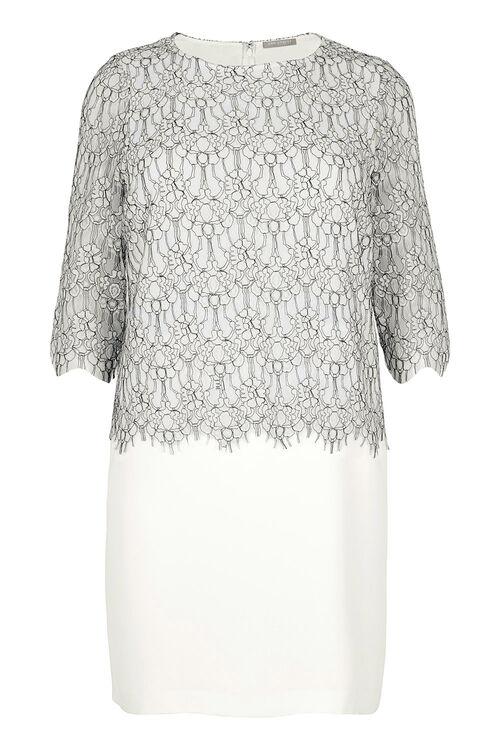 Ann Harvey Lace Overlayer Dress