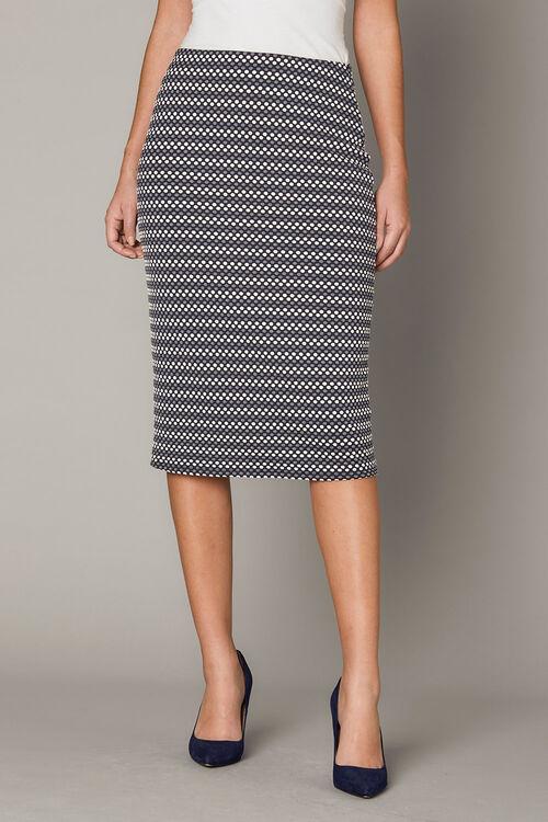 Spot Pencil Skirt