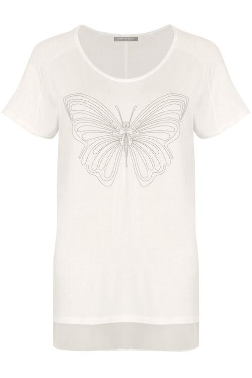 Ann Harvey Butterfly Detail Top