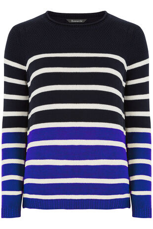 Cotton Striped Jumper
