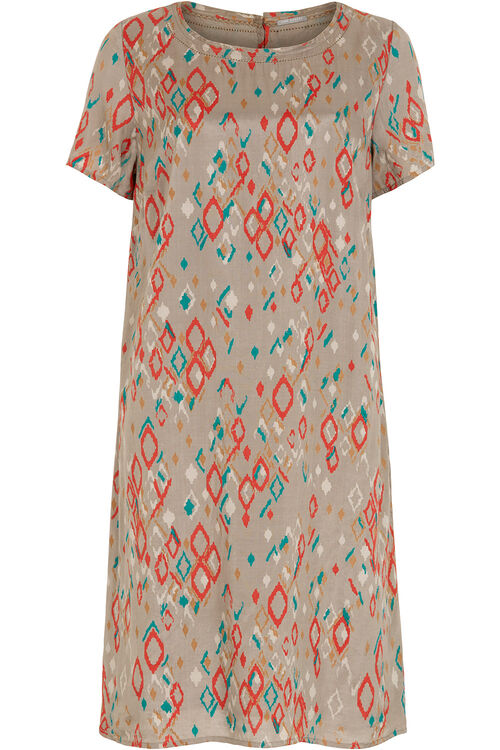 Ann Harvey Printed Crushed Dress