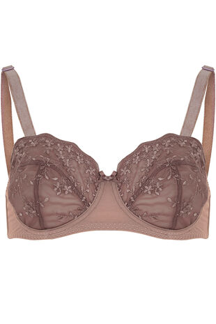 Embroidery Cup Multiway Bra