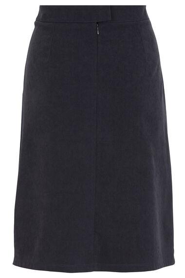 A Line Moleskin Skirt